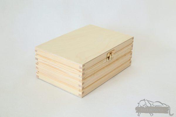 Pudełko z rowkami 21x15 2