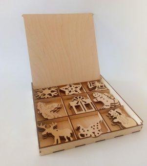 Drewniane Ozdoby - Wycinanie ze sklejki